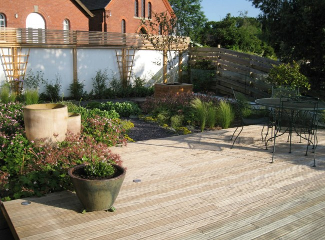 Rooftop Garden with Decking