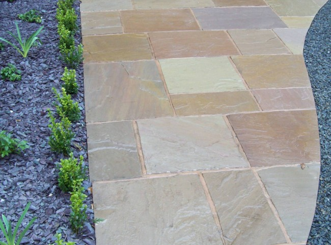 Natural Stone Paving Water Feature