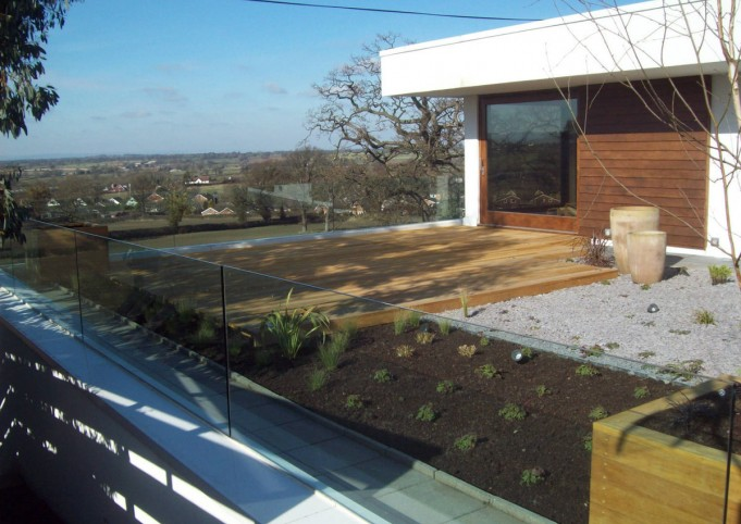 Roof Gardens and Garden Terraces